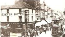Corner of Union Street and Oxford Street Swansea