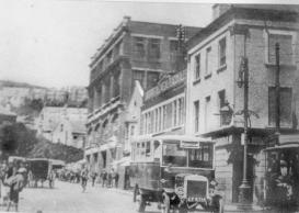 Dillwyn Street 1925 looking from Oxford street