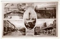Postcard views Swansea Market 1935