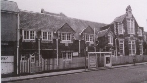 Oxford Street School which opened to pupils in 1848