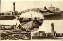 Postcard Multiple views of swansea