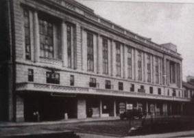 The Plaza Cinema in Gower Street Swansea around 1930