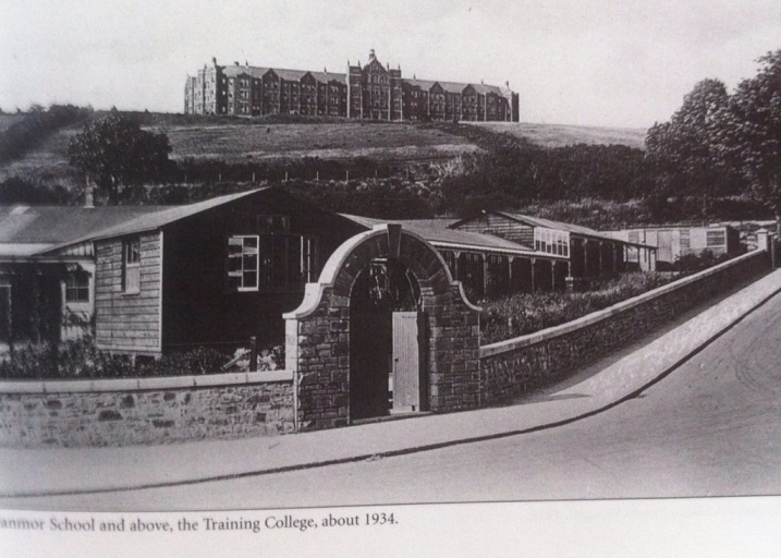 Glanmor School Uplands Swansea in the foreground