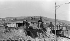 Bridge street 1961 demolishing the Midland Station