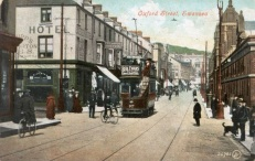 Oxford / Union Streets Swansea