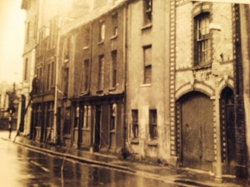 Orange Street in Swansea - south side