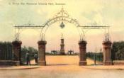 Victoria Park Boer War Memorial Swansea