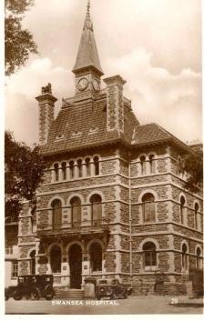 Old Hospital on St Helens Road Swansea