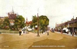 Old Swansea Hospital St Helens Road