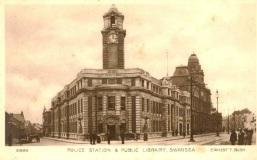 Swansea Police Station Alexandra Road