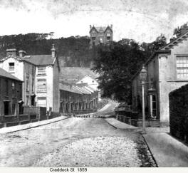 Craddock Street 1859 in Swansea