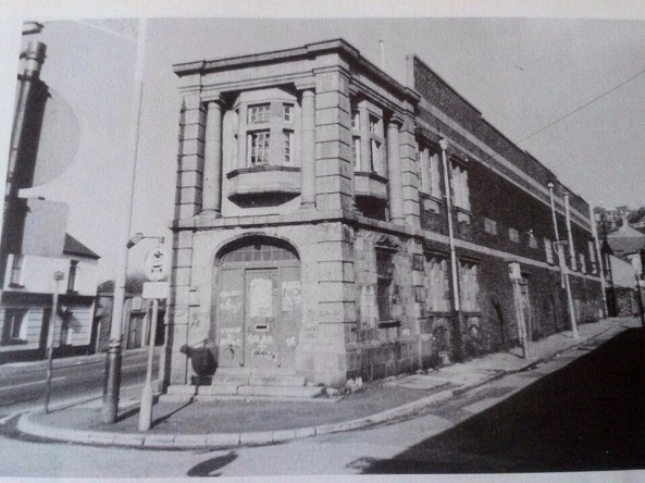 Scala Theatre (later the Pictorium) at Thomas Street in St Thomas