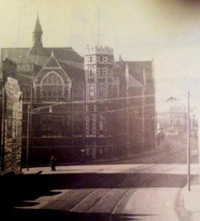 Dynevor school from Alexandra Road