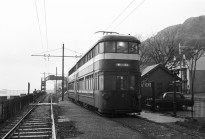 Mumbles Train at the Southend stop, Swansea in the 50s
