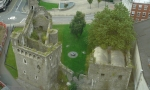 Aerial perspective Swansea Castle