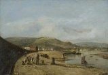 Painting - west pier at swansea