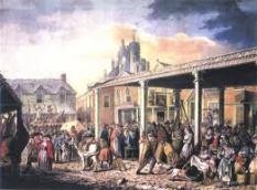 Bawdy market day in Castle street