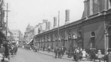 Oxford street Market entrance