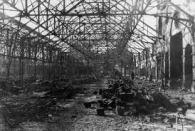 Swansea Market Blitzed 1941