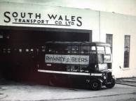 Raven hill bus garage Swansea