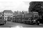 Buses at st Mary's swansea