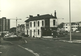 Demolition Rutland Street Swansea