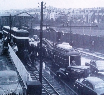Accident with mumbles train