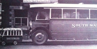 the small bus was an advertising gimmick