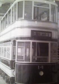 Swansea tram number 14