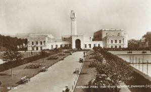 Swansea Civic Centre opened 1934