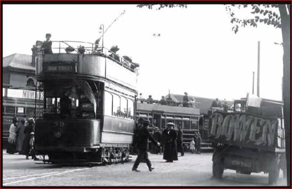 Tram to High Street
