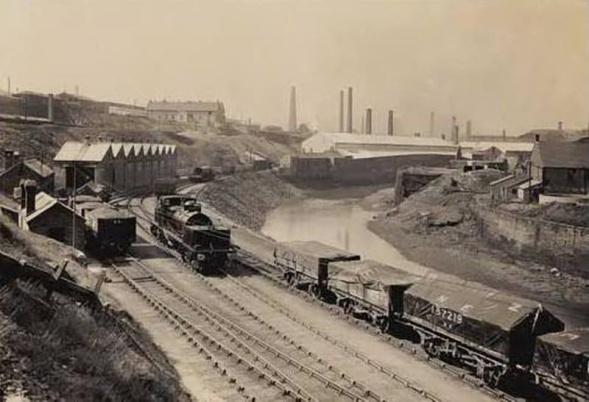 Tawe Riverside railway