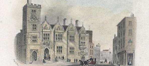 Post office Castle Street Swansea circa 1770