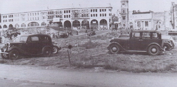 Before castle gardens 1949