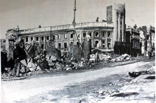 Temple Street from Castle Street 1941