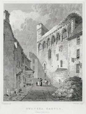 Castle Lane Swansea from the Strand