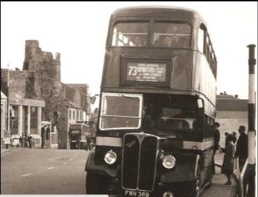 At Castle Street Swansea