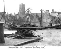 remains of Ben Evans 1941