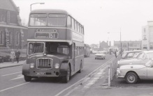 Swansea bus at St Mary's