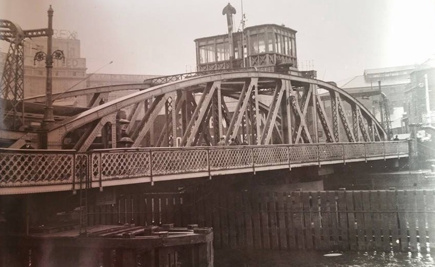 Swing Bridge over the Tawe