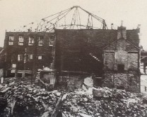 War damaged Swansea