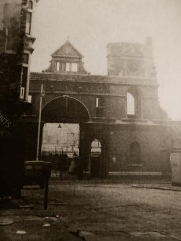 Market entrance from Portland Street Swansea
