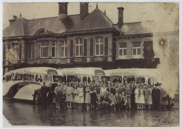 Swansea Municipal Baths outing