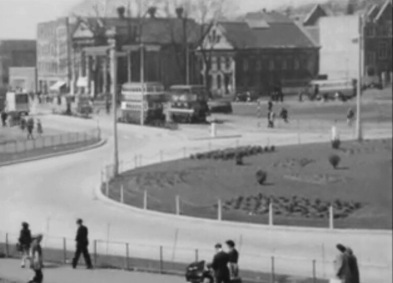 Kingsway Roundabout swansea