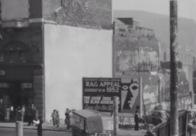 1952 Welcome lane Rebuilding in Castle Street Swansea