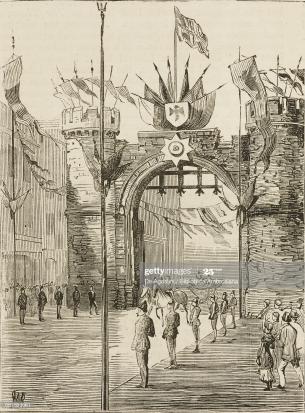 Swansea castle bailey street 1904