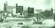 Swansea Castle mid 18Cth