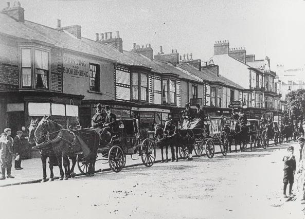 Funeral Dillwyn St. 1909